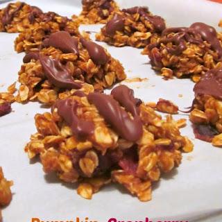 Pumpkin-Cranberry No-Bake Cookies