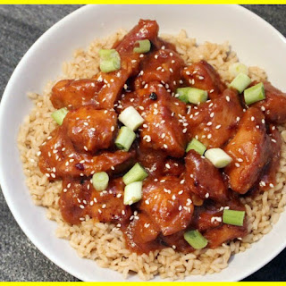 Slow Cooker Crocked Orange Chicken
