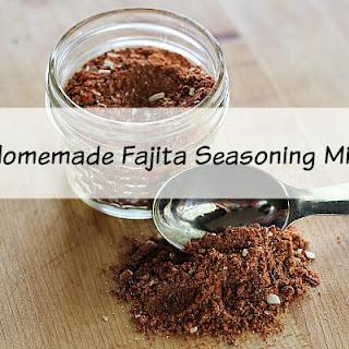 Homemade Fajita Seasoning Mix.