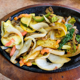 TGI Friday's Sizzling Vegetable Fajitas