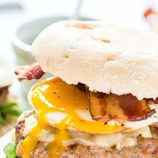 Maple Bacon Breakfast Burger.