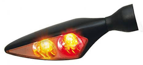 Kellermann 3in1 Rear, Brake, Indicator Unit Micro Rhombus DF