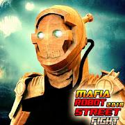 Mafia Robot Fighting Games: Transform Ring Fight 2