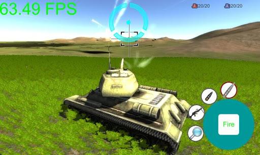 满山遍野打坦克