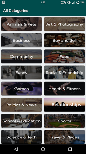 Groups For Whatsapp - Unlimited Links 2.7 screenshots 3