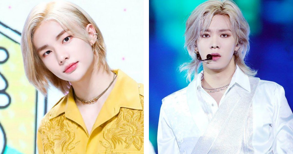 11 Male Idols Who Impress With Their Striking Visuals In Long Blonde Hair Koreaboo