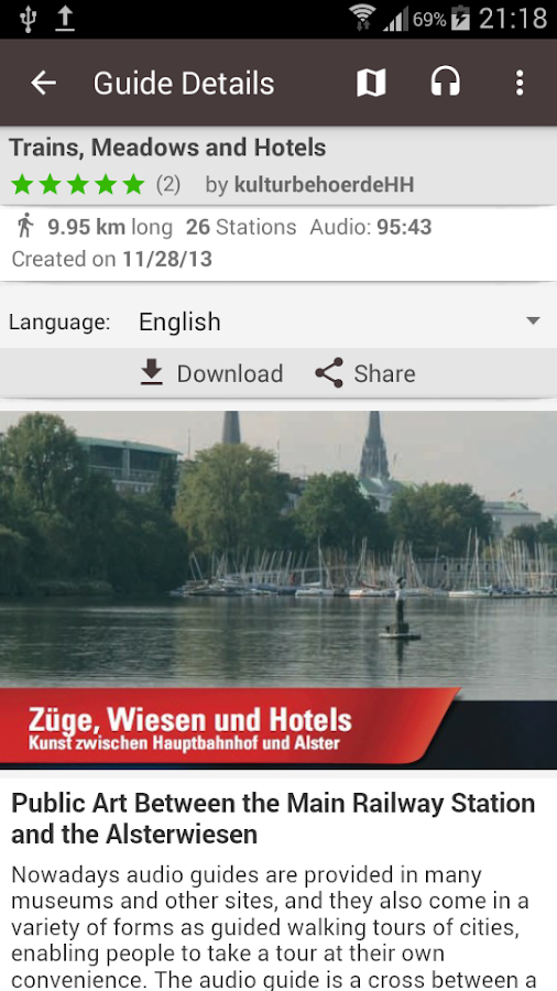 guidemate Audio Travel Guides- screenshot