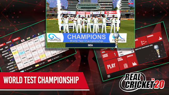 Real Cricket 20 Mod (Unlimited Money) 7