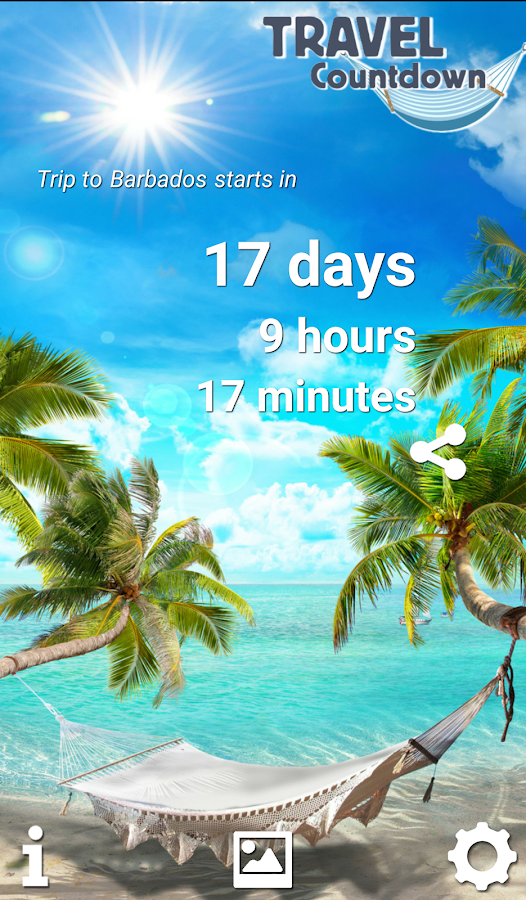 Travel Countdown 2018 Android Apps On Google Play