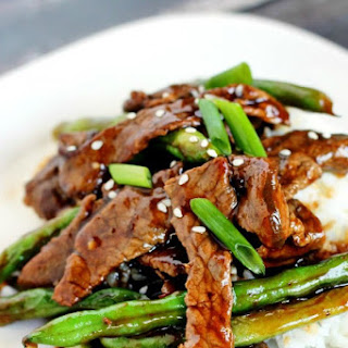 Chinese Beef & Green Beans