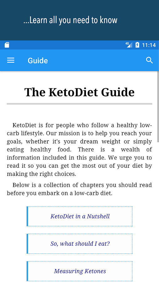 KetoDiet- screenshot
