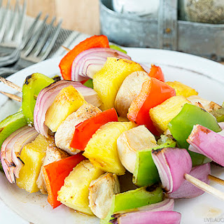 Hawaiian Chicken Kabob