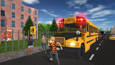 School Bus Game screenshot thumbnail