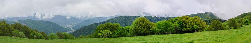 Panorama ballon d'Alsace