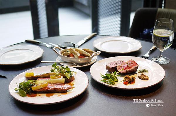 TK Seafood & Steak-乾式熟成櫻桃鴨胸、頂級和牛ღ捷運忠孝復興站.東區美食ღ