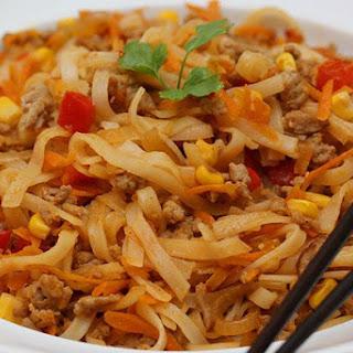 Thai Chilli Pork Noodles