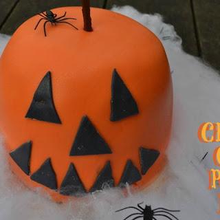 Chocolate Orange Pumpkin Halloween Bombe