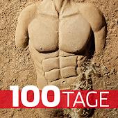 Strandfigur in 100 Tagen