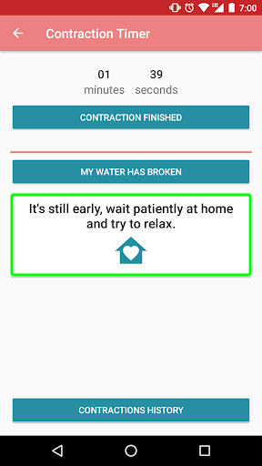 Contraction timer Apk 2