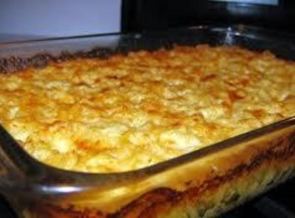 Cheesy Baked Mac & Cheese Recipe