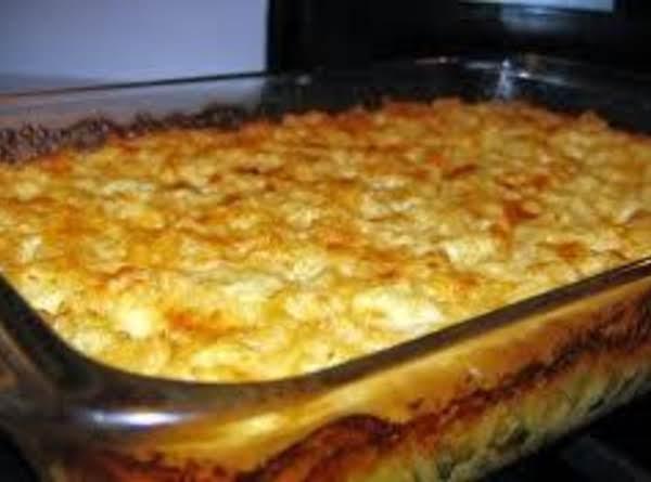 Cheesy Baked Mac & Cheese