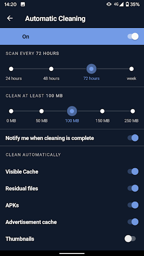 CCleaner: Cache Cleaner, Phone Booster, Optimizer 5.1.0 Screenshots 6