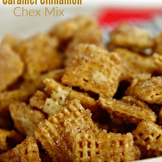 Caramel Cinnamon Chex Mix.