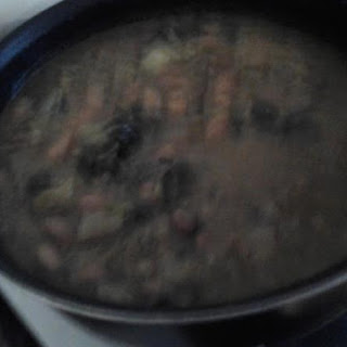 Crock pot Beans and Greens soup