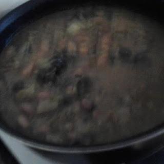 Crock Pot Beans and Greens Soup Recipe