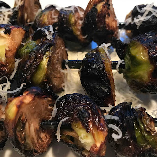 Grilled Brussels Sprouts.