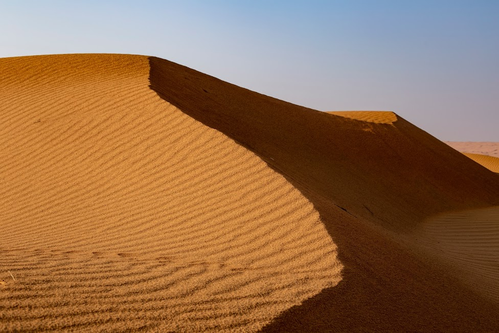 Wahiba Sands, Oman, pustynia, wydmy