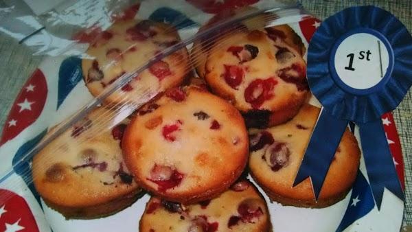 Cranberry White Chocolate Muffins Recipe