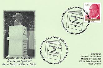 Photo: Matasellos del bicentenario de la Constitución de Cádiz en EXFIASTUR 2012