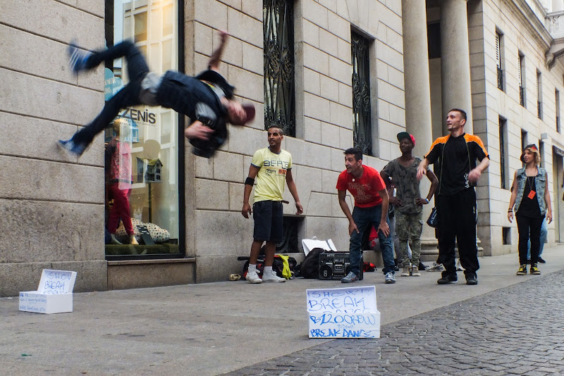 Break dance di Giò Volpi
