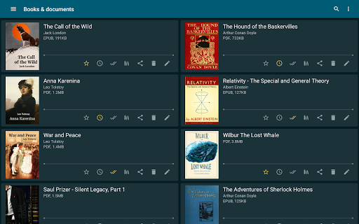 ReadEra - book reader pdf, epub, word 19.12.27+1120 screenshots 10