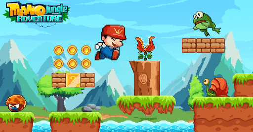 Mano Jungle Adventure screenshot 2
