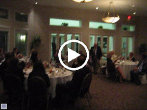 Video: Blaine receiving the ROTARIAN OF THE YEAR Award from President Dennis Robinson - June 8, 2012