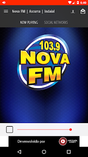 Nova FM | Ascurra | Indaial- screenshot thumbnail