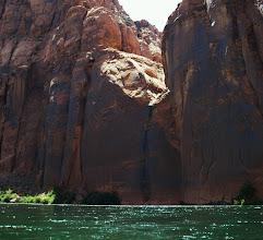 Photo: Canyon dry fall.