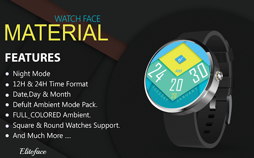 MATERIAL Watch Face HD