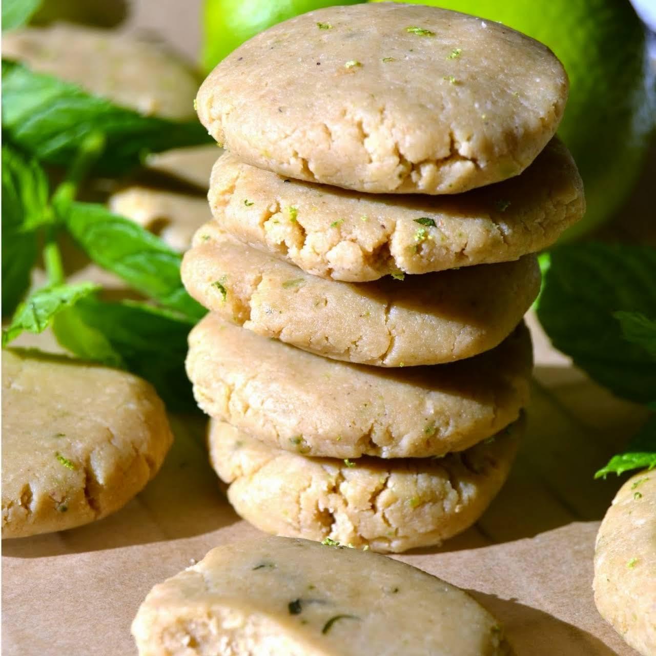 Raw Mojito Cookies