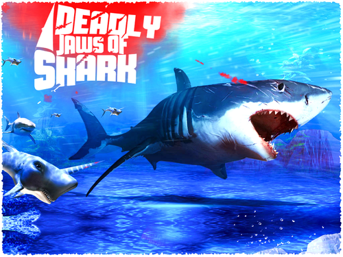 DEADLY JAWS OF SHARK - 3D GAME