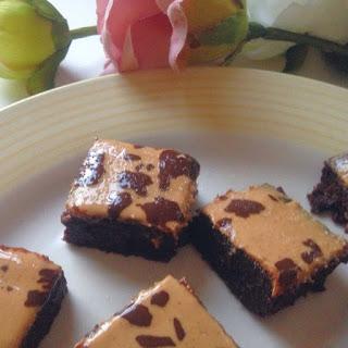 Peanut Butter Brownies | Vegan and Gluten Free