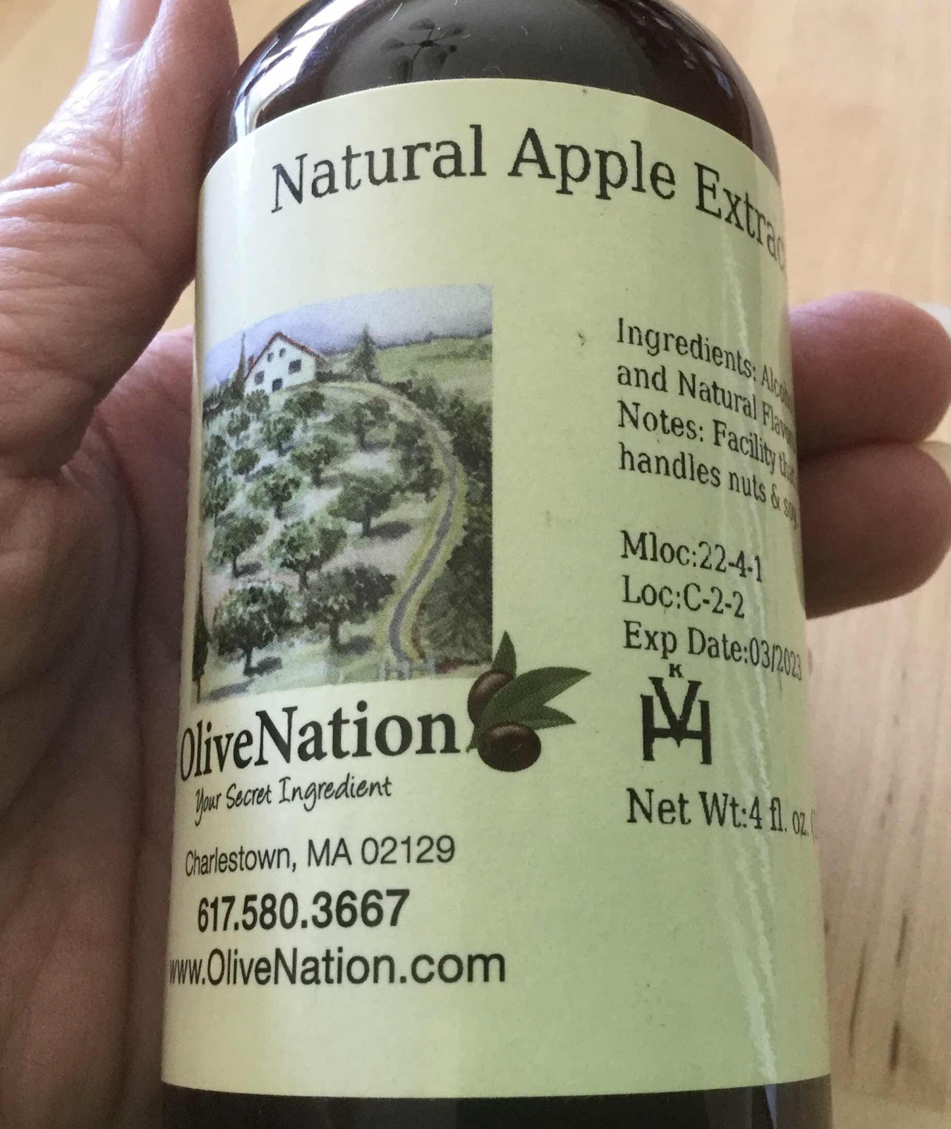 OliveNation Apple Extract