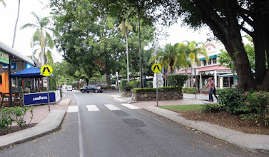 Photo: Town scene, lovely, clean, friendly Port Douglas, QLD, Australia.