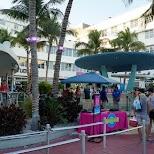 Cevelander on Ocean Drive in Miami, Florida, United States