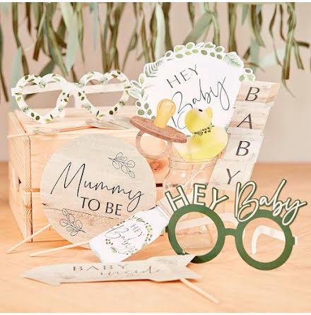 Photobooth-kit - Botanical baby