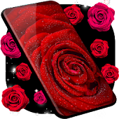 Red Rose Live Wallpaper 🌹 Spring Theme Wallpapers APK download