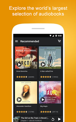 Audiobooks from Audible - screenshot