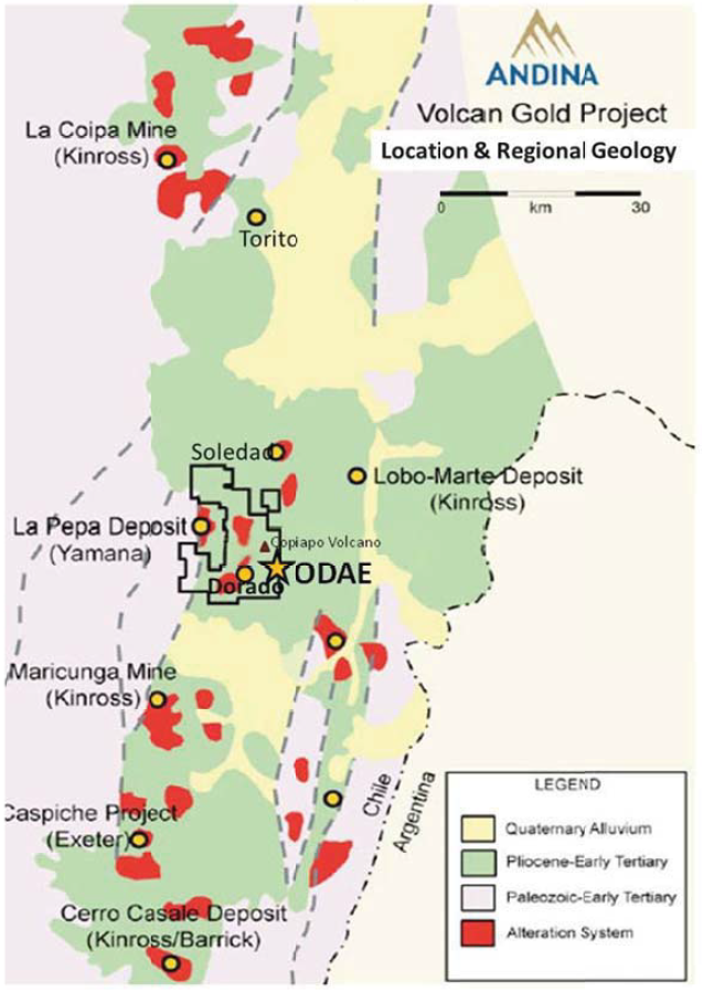Regional Geology and Deposits of the Maricunga Belt